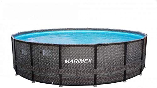 Marimex Florida Piscina Premium Ratan I Piscina de Pared de Acero para jardín sin Accesorios, 4, 88 x 1, 22m: Amazon.es: Jardín