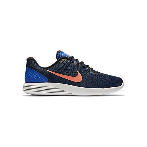 8186414fd1a4a Galleon - Nike Mens LunarGlide 8 Running Shoe Hyper Cobalt Black Loyal Blue  Bright Mango 7.5