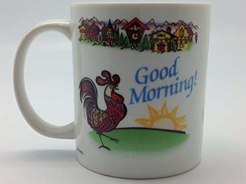"""Guten Morgen"" German Gift Idea Coffee Cup"