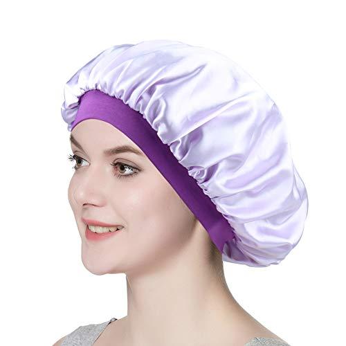 Silk Sleeping Cap Women's Soft Slouchy Satin Lined Hat Chemo -