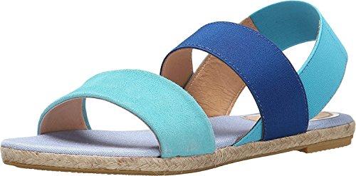 Vidorreta Women's Leo Sandals Turquoise Combo