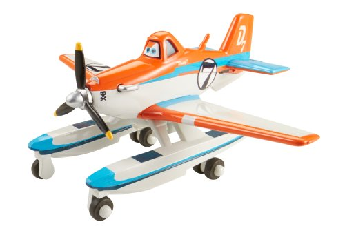 Disney Planes Fire and Rescue Racing Dusty with Pontoons Die-cast (Search And Rescue Vehicles)