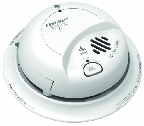 First Alert SC9120BCA Hardwire Combination Carbon Monoxide and Smoke Alarm