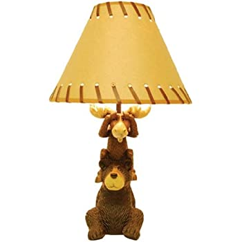 Exceptional Bear U0026 Moose Table Lamp
