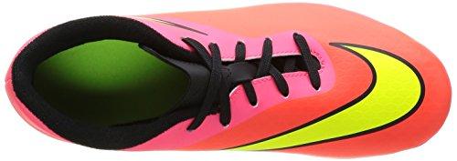 Nike 599073 690 Jr Hypervenom Phade Fg-R Jungen Sportschuhe - Fußball Mehrfarbig (TTL CRIMSON/VLT-HYPR PNCH-BLCK)