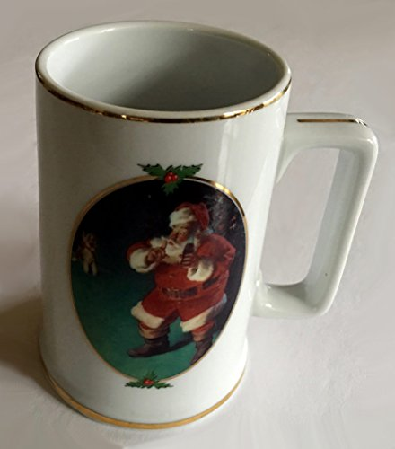When Friend's Drop In Coca-Cola 1996 Collector's Edition Santa Mug