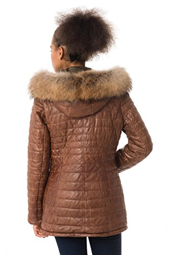 0507 Oakwood Popping Cognac Manteau Marron Femme qwSfXOz6