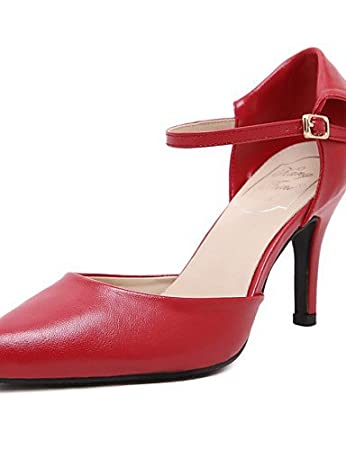 nouveaux styles c0f56 b1147 Chaussures Femme-Habillé-Noir / Bleu / Rouge-Talon Aiguille ...