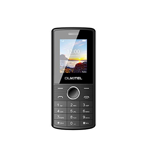 Unlocked Cell Phones, Oukitel L3 Dual SIM GSM Mobile Phone for Seniors with 8W Camera -Retail Packaging Phone-Black