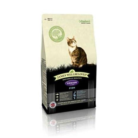 James Wellamoved - Peces para gato (4 kg): Amazon.es: Productos ...