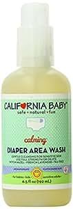 California Baby Diaper Area Wash - Non-Burning & Calming, 6.5 oz