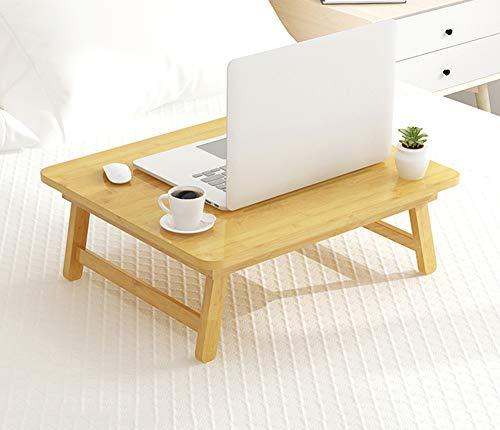 Mesa Plegable Para Ordenador Portatil De Bambu Bandeja Para Cama Y Sofa Mesita Auxiliar Ajustable Y Portable Small