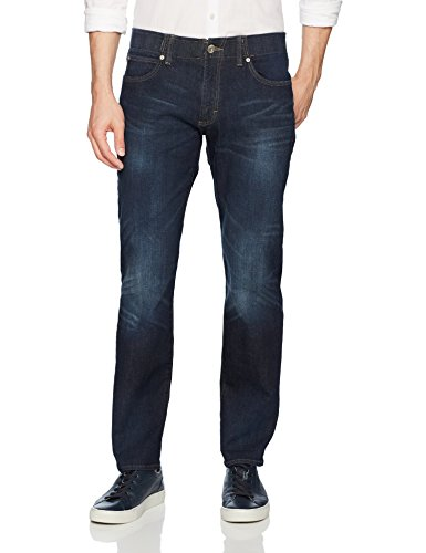 LEE Men's Modern Series Extreme Motion Straight Fit Tapered Leg Jean, Trip, 40W x 32L