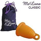 【一般医療機器】月経カップ メルーナ 取り出しやすいリング型・クラシック・オレンジ (Mサイズ)