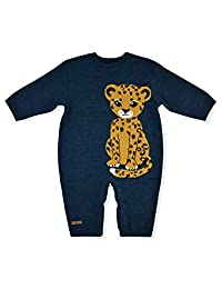 U/N Jumpsuit Leopard for Baby Newborn Soft Overalls