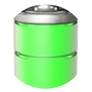 alfombrilla de ratón batería completamente cargada - ronda - 20cm
