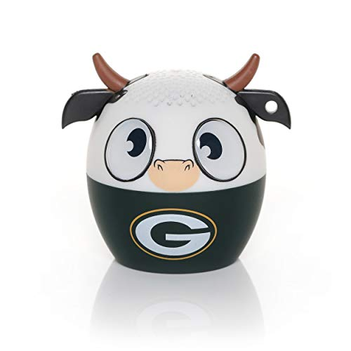 Bitty Boomer NFL Green Bay Packers Wireless Bluetooth Speaker, One Size, Green