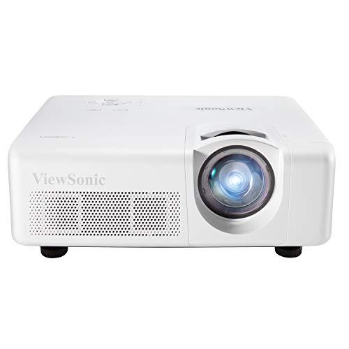 ViewSonic LS625X 3200 Lumens DLP XGA Short Throw Projector with Horizontal and Vertical Keystone Correction and LAN Control