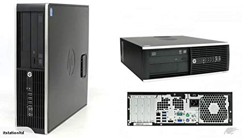 HP Elite 6300 SFF Quad Core i5-3470 3.2GHz 16GB 240GB SSD + 1000GB HDD DVD WiFi Windows 10 Professional Desktop PC…