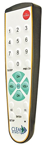 Clean Remote CR3BCB Universal TV Remote - Pack Of 25 by CLEAN REMOTE