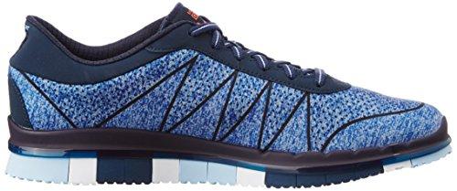 Blu Donna Nvbl Ability Sneaker Flex Skechers Go vXw7UznPqx