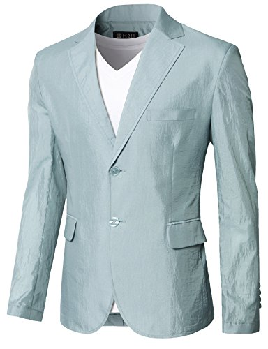 Lined Two Button Suit - 5
