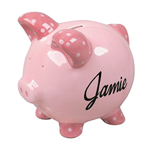 Miles Kimball Personalized Kids Piggy Bank