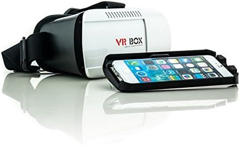 Saxonia VR Box Realidad Virtual Gafas 3D para Samsung Galaxy ...