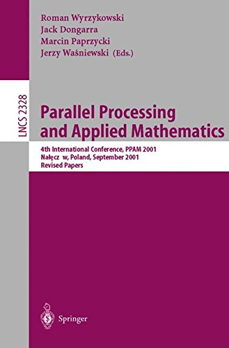 Parallel Processing and Applied Mathematics by R Wyrzykowski
