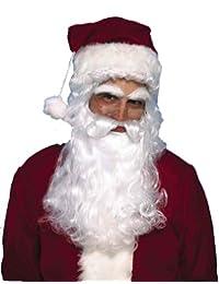 Santa Wig & Beard Christmas Costume Accessory Set