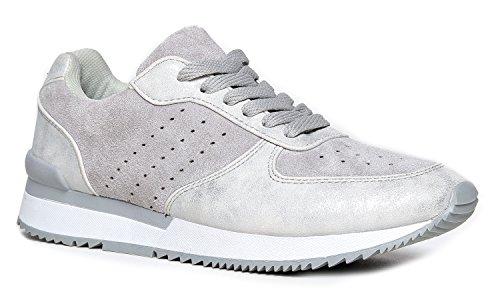 J. Adams Lifestyle Sneaker, Grey, 7 B(M) US