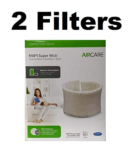 Reliаble AIR CARЕ MAF1 Replacement Wicking Humidifіer Filter GENUINE 2 FILTERS ()