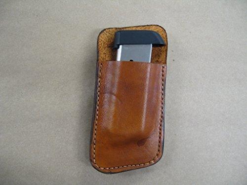 Walther PPK, PPKS 380 Leather Clip On OWB Belt Magazine M...