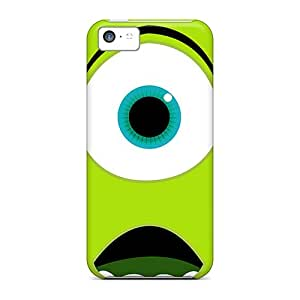 Hard Plastic Iphone 5c Cases Back Covers,hot Monsters University Mike Wazowski Cases At Perfect Customized