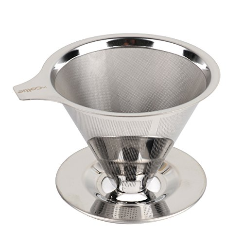 HiCollie Paperless Pour Over Coffee Dripper/Drip