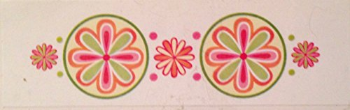 (Sherbet Flower Mosaic Rub-ons by American Traditional Designs)