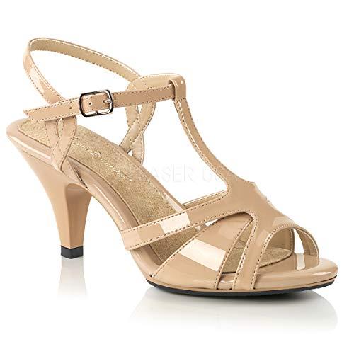 Fabulicious Women's Belle-322 T-Strap Sandal ()