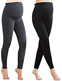 2 Pack Women's Over The Belly Super Soft Support Winter...