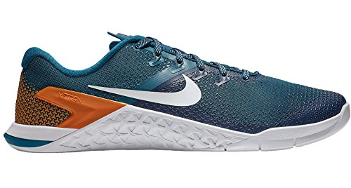 NIKE da Ginnastica Orange Force Basse Scarpe Monarch Pulse Uomo Metcon Blue White 001 Multicolore 4 twqrU4t