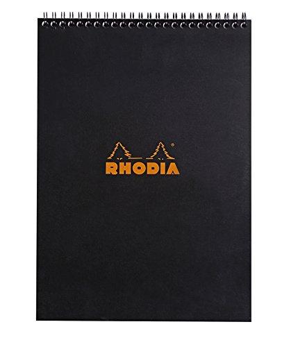 Rhodia Notepads Graph Black Wb 8.3 x 11.7 - Graph Notepad