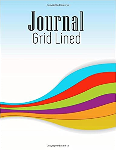 Journal Grid Lined: Graph Paper Notebook