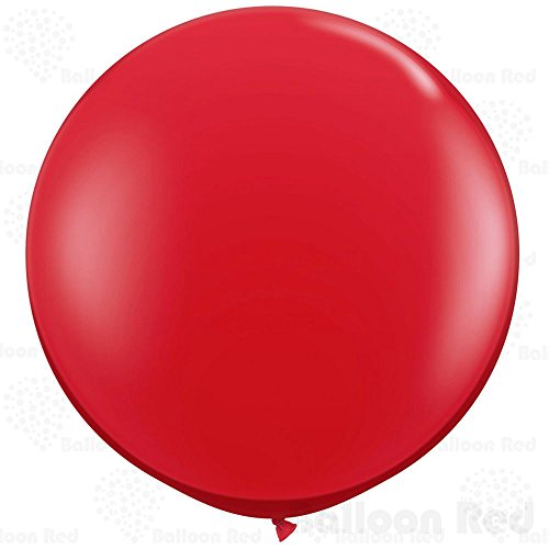 Candyland Character Costumes (18 Inch Giant Jumbo Latex Balloons (Premium Helium Quality), Pack of 3, Round Shape - Red)