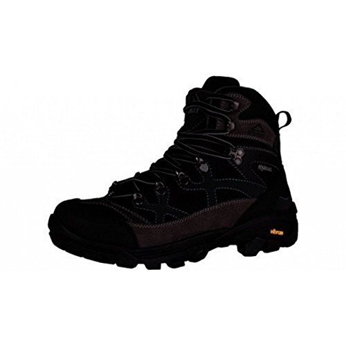McKinley Botas de senderismo. Magma AQX Gris/Negro/Luz Azul, mujer, Magma Aqx, Grey / Black / Blue Light, 42 Grey / Black / Blue Light
