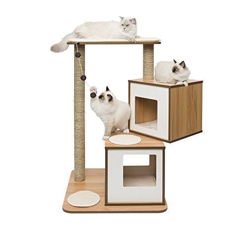Vesper Cat Furniture, Walnut, V-Double