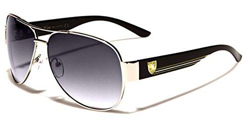 [Men's Youth Retro 80s Vintage Fashion Aviator Designer Sunglasses] (80s Male Fashion)