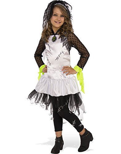 (Rubie's 630909 Child's Monster Bride Costume, Medium,)