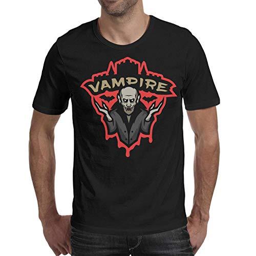 Melinda Halloween Vampire Decor Men's t Shirts Cool Mens Guys Halloween Costume tee Shirt