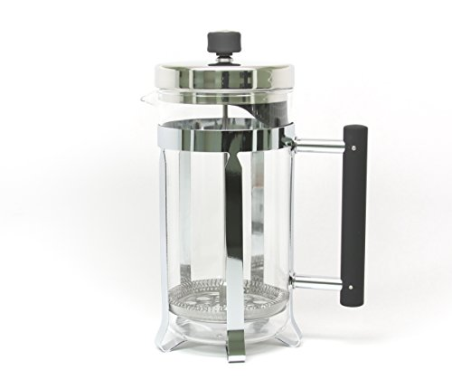 La Cafetiere Classic Nouveau 8-Cup French Press (Stainless Steel)