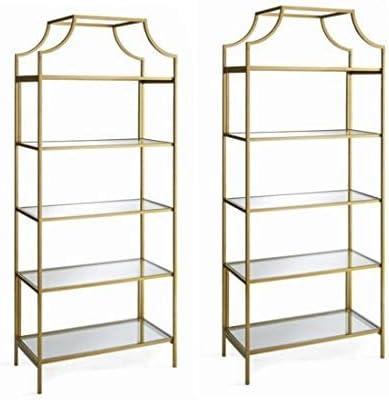 Better Homes and Gardens Nola 5-Open Shelves Bookcase