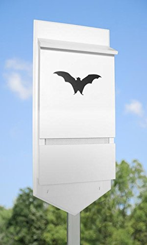 Wing & A Prayer Gotham Bat House, White, 30 bats by BestNest